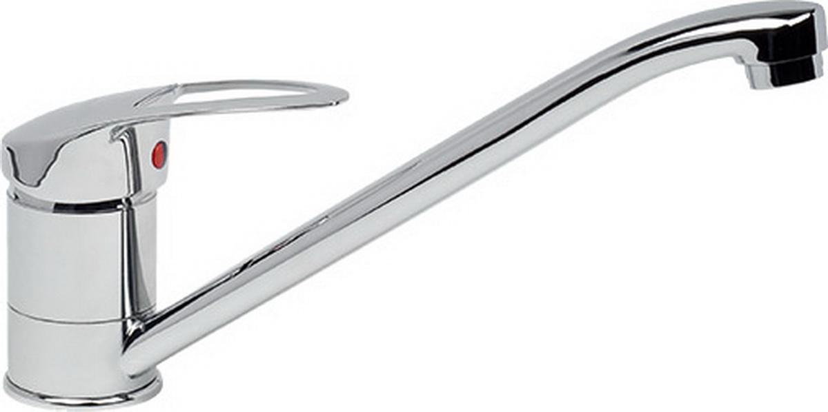 Смеситель для кухни Argo Olio, высота 15,5 смBL505Смеситель для кухни Argo Olio предназначен для смешивания холодной и горячей воды, устанавливается на мойку. Выполнен из высококачественного металла с покрытием из никеля и хрома.В комплекте гибкая подводка Argo (длина 50 см).Запорный механизм: картридж d-40 мм Short-size Аэратор: ячейковый М24х1 OnlyPlast 10-13 л/мин при 0,3 МПа Крепеж: двухшточный Double-rod