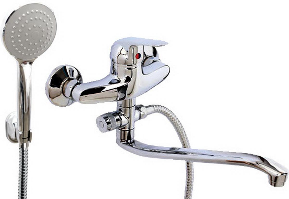 Argo смеситель для ванны и умывальника Echo, d-40, картриджный, S образный излив 295 мм68/5/3Смеситель для ванны и умывальника 40-s35/d echo картридж d-40 мм short-size, крепеж эксцентрик 3/4 х 1/2 + прокладка-фильтр аэратор м24х1 наружная резьба only plast 10 - 13 л/мин. при 0,3 МПа покрытие никель / хром комплектация душевой шланг 150 см, оплетка - хромированная нержавеющая сталь, двойной замок, 1/2душевая лейка Monoкронштейн материал основа латунь