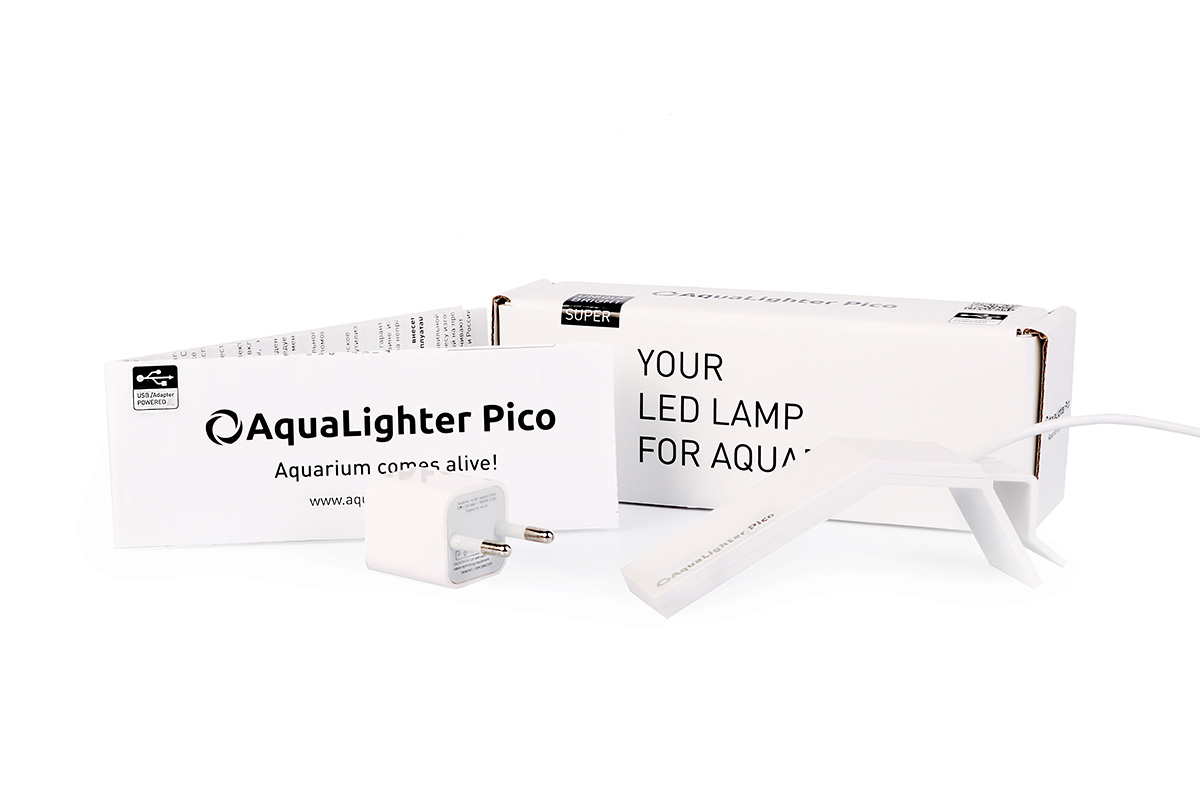 Светильник LED AquaLighter  Pico , цвет: белый, 10 л, 6500 К - Аксессуары для аквариумов