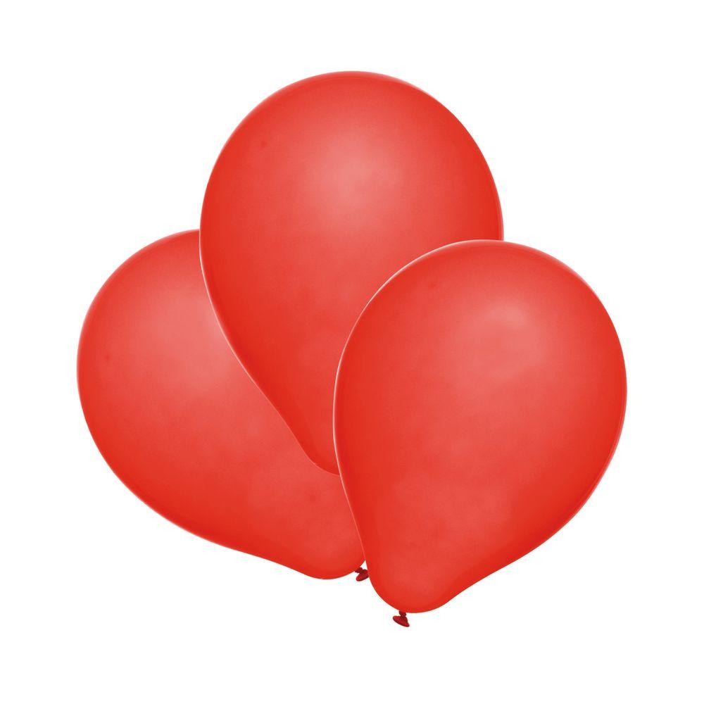 Susy Card Набор воздушных шариков цвет красный 25 шт