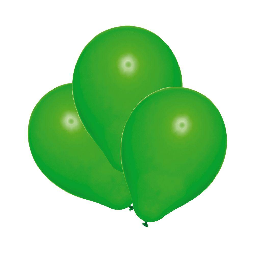 Susy Card Набор воздушных шариков цвет зеленый 25 шт