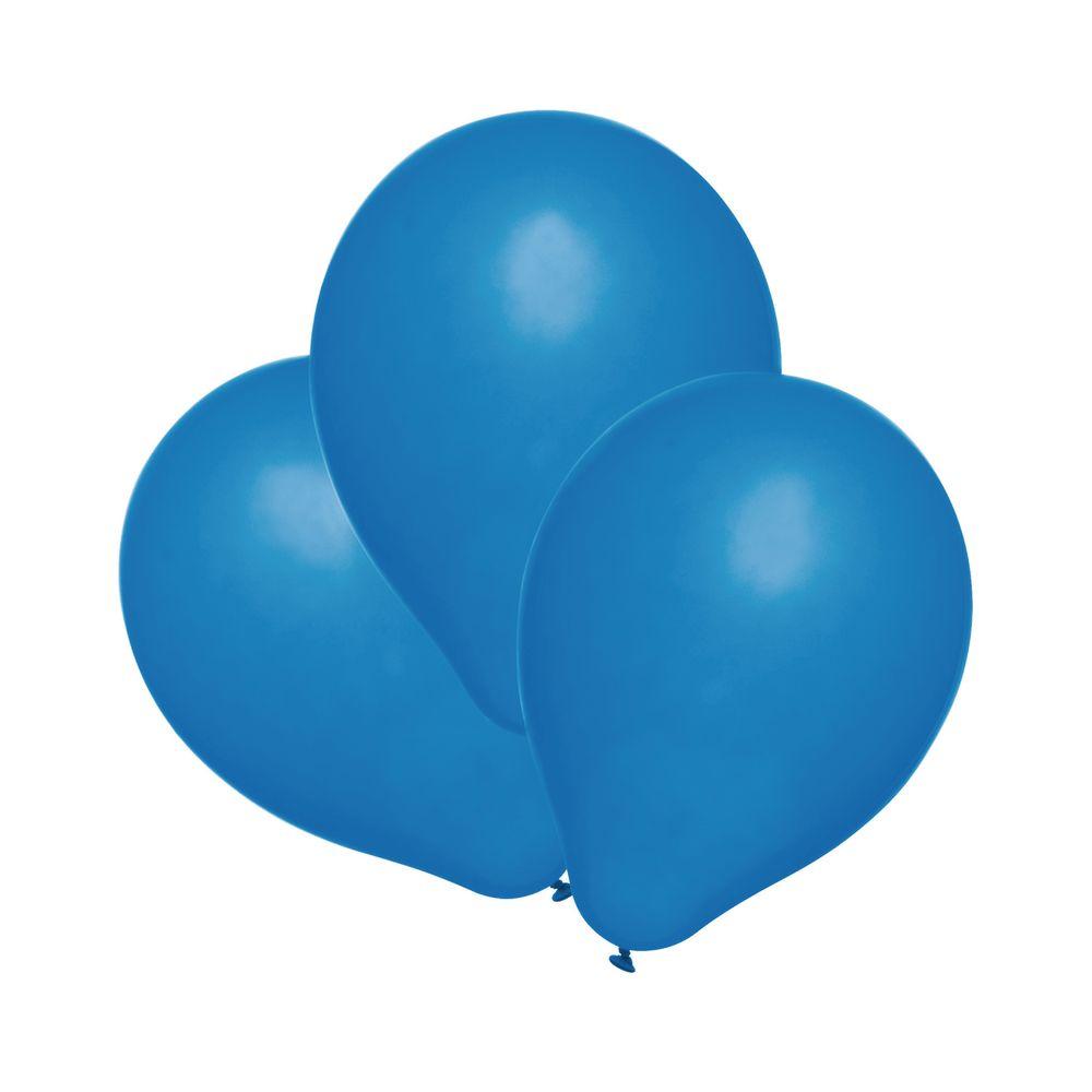 Susy Card Набор воздушных шариков цвет синий 25 шт