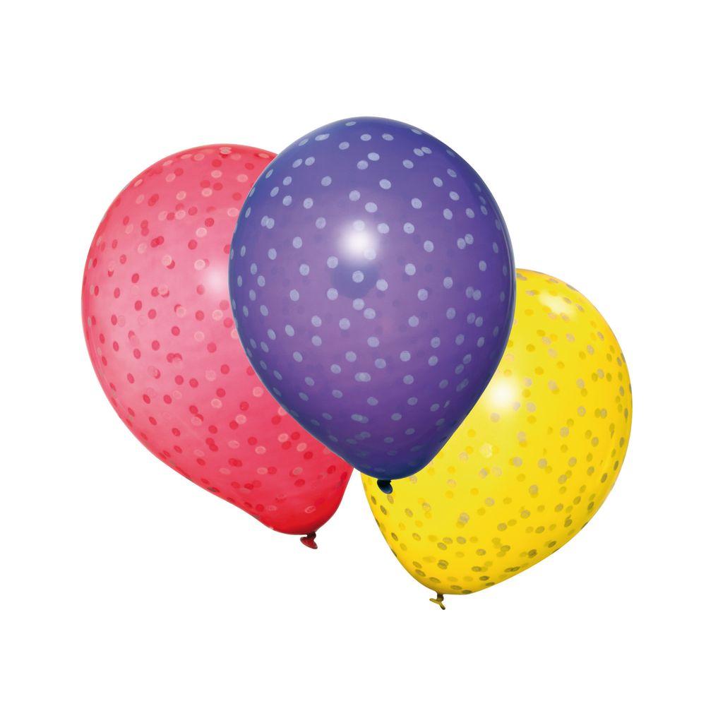 Susy Card Набор воздушных шариков Горошки 6 шт susy card гирлянда детская мышь