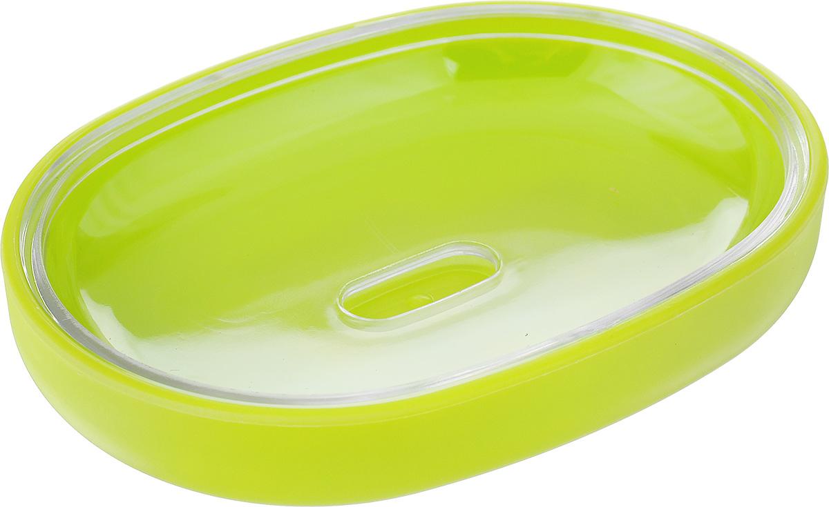 Мыльница Vanstore Plastic Green, цвет: салатовый, 12 х 9 х 2,5 см68/5/3Оригинальная мыльница Vanstore Plastic Green, изготовленная из пластика, отлично подойдет для вашей ванной комнаты. Такая мыльница создаст особую атмосферу уюта и максимального комфорта в ванной.Размер мыльницы: 12 х 9 х 2,5 см.