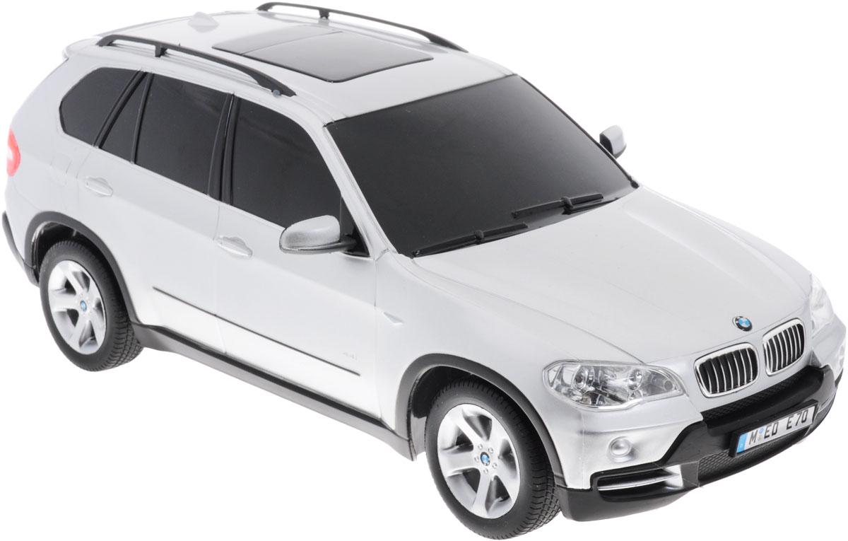 Rastar Радиоуправляемая модель BMW X5 цвет серебристый масштаб 1:18