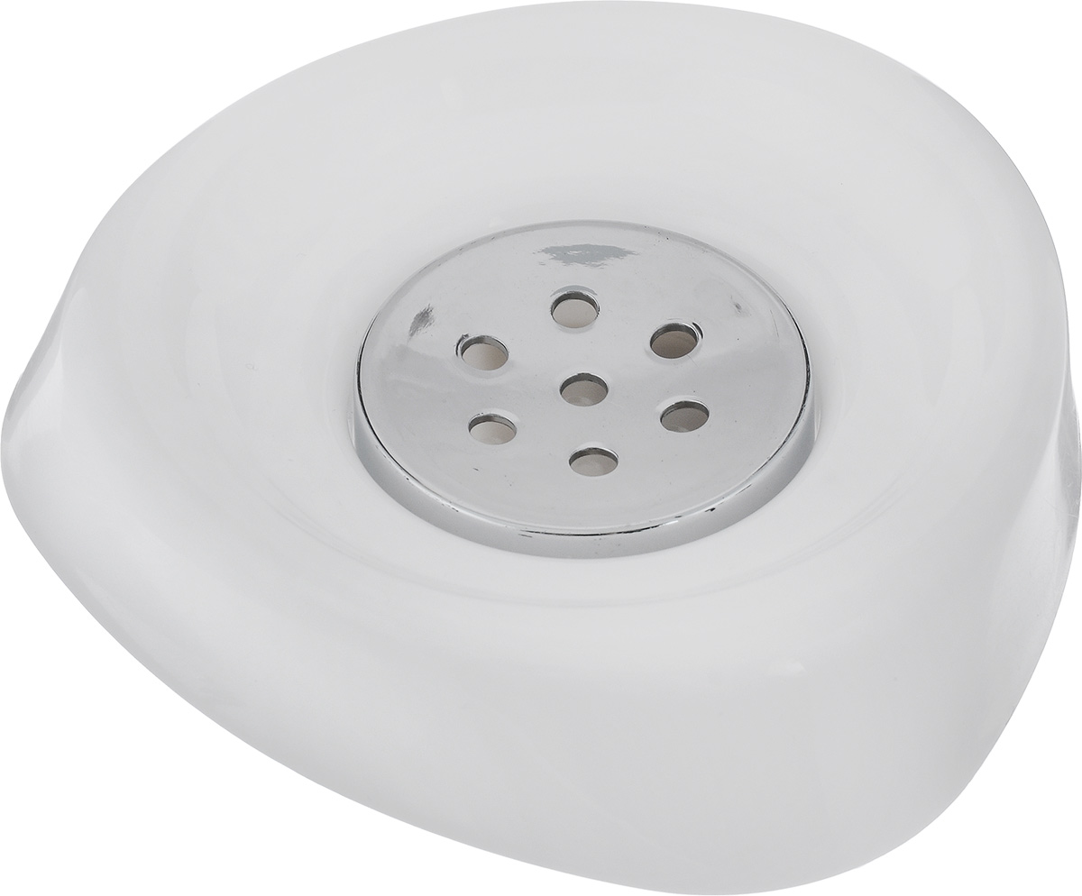Мыльница Vanstore Wiki White, цвет: белый, 11 х 11 х 3 смAC-3001C-BlueОригинальная мыльница Vanstore Wiki White выполнена из высококачественного пластика. Изделие отлично подойдет для вашей ванной комнаты.Такая мыльница создаст особую атмосферу уюта и максимального комфорта в ванной.Размер мыльницы: 11 х 11 х 3 см.