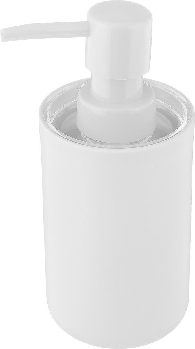Дозатор для жидкого мыла Vanstore Plastic White, цвет: белый, 300 мл68/2/3Дозатор для жидкого мыла Vanstore Plastic White, изготовленный из пластика, отлично подойдет для вашей ванной комнаты.Такой аксессуар очень удобен в использовании, достаточно лишь перелить жидкое мыло в дозатор, а когда необходимо использование мыла, легким нажатием выдавить нужное количество. Дозатор для жидкого мыла Vanstore Plastic White создаст особую атмосферу уюта и максимального комфорта в ванной.Размер дозатора: 6,5 х 6,5 х 16 см.Объем дозатора: 300 мл.