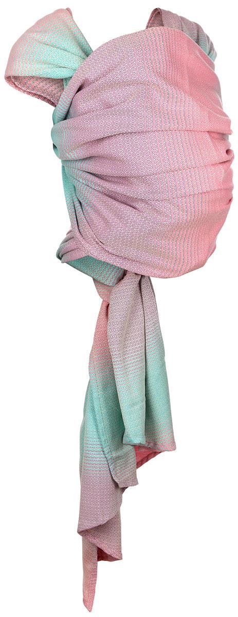 Mums Era Слинг-шарф Симбио цвет конфетти Размер M07-0001Слинг-шарф Mums Era Симбио - замечательный помощник для молодой мамы: освобождает руки, создает близкий контакт с малышом, позволяет покормить незаметно для окружающих, прекрасно успокаивает и усыпляет малыша. Это удобная, безопасная и универсальная переноска для детей, она имеет множество положений, что позволяет выбрать то, что подойдет именно вам!Слинг-шарф выполнен из 100% хлопка и оформлен узором в виде мелких ромбов, который прекрасно сочетается с повседневной одеждой. Полотно тянется по диагонали, но не тянется вдоль и поперек, благодаря чему слинг хорошо облегает, ложится мягкими складками. Нежный мягкий материал идеален для ношения детей от рождения и до трех лет. Слинг-шарф надевается на оба плеча родителя, поэтому не возникает смещения центра тяжести, так что даже тяжелого малыша вы будете носить с удовольствием и почти не ощущая нагрузки. Такой слинг станет не только удобной переноской, но и стильным аксессуаром для молодой мамы.Слинг-шарф подойдет любому взрослому с размером одежды от 44 до 50. Такой слинг очень удобен как для новорожденных, так и для деток постарше. Слинг-шарф можно использовать для ношения ребенка от рождения(в горизонтальном положении) и до 2-3 лет (горизонтальное и вертикальное положение).В слинге-шарфе удобно покормить ребенка грудью или укачать на дневной сон, путешествие с ребенком станет приятным и комфортным. Слинг-шарф Mums Era Симбио - это переноска, которую вы и ваш малыш сможете использовать в течение нескольких лет.В комплекте со слингом вы найдете подробную инструкцию на русском языке со способами завязывания для малышей разных возрастов - от рождения до 3-х лет.