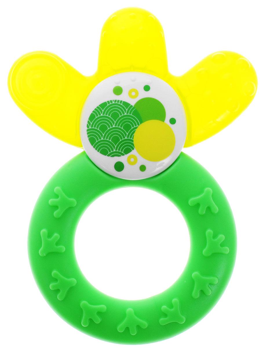MAM Прорезыватель охлаждающий Cooler цвет зеленый желтый велосипед bulls vanida disc 27 5 2016