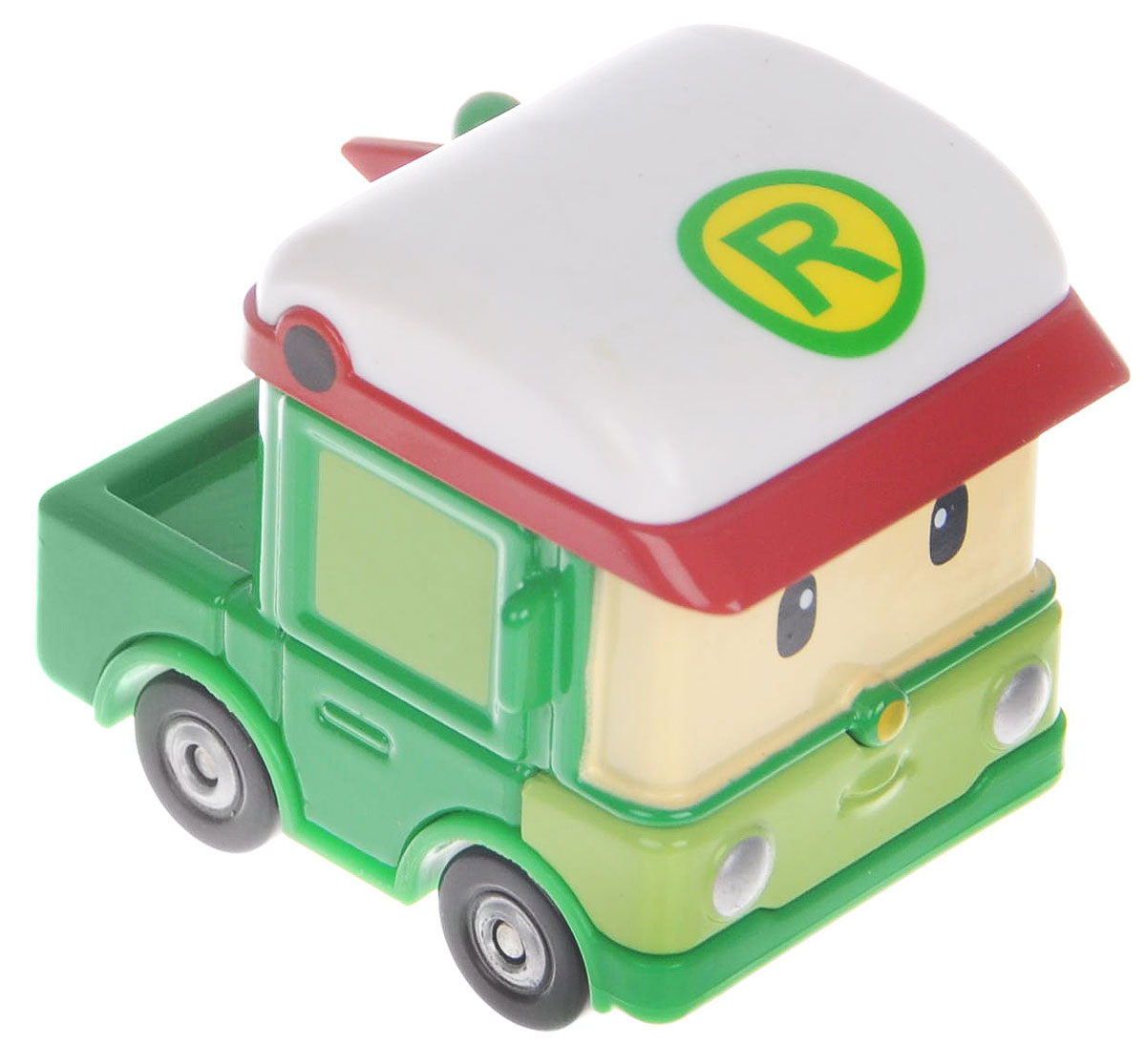 """Яркая игрушка Poli """"Машинка Роди"""" непременно понравится вашему малышу. Она выполнена из металла с элементами пластика в виде машинки Роди - персонажа популярного мультсериала """"Robocar Poli"""". Роди оснащен колесиками со свободным ходом, позволяющими катать машинку. Благодаря небольшому размеру ребенок сможет взять игрушку с собой на прогулку, в поездку или в гости. Порадуйте своего малыша таким замечательным подарком!"""