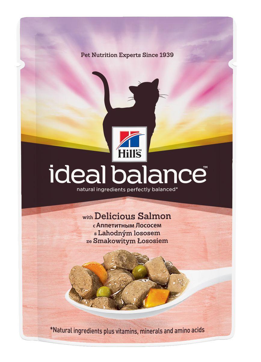 Консервы для кошек Hills Ideal Balance, с аппетитным лососем, 85 г0120710Аппетитный рационHills Ideal Balance кусочки лосося с овощами в соусе изготовлен из превосходных натуральных ингредиентов и обеспечивает точно сбалансированное питание вашей кошке для поддержания ее здоровья. Ключевые преимущества:Безупречно сбалансированСоздан на основе натуральных ингредиентовНе содержит кукурузы, пшеницы, соиБез искусственных красителей, ароматизаторов, консервантовГарантия 100% сбалансированного питанияКонтролируемое содержание протеина и натрия обеспечивает идеальный баланс нутриентов для поддержания крепкого здоровья Контролируемое содержание магния и фосфора поддерживает здоровье мочевыводящих путей Высокая энергетическая ценность удовлетворяет потребность животного в энергии без необходимости скармливать большие порции Точный баланс натуральных ингредиентов: Свежее мясо курицы. Превосходный источник постного белка. Поддерживает питомца в хорошей стройной форме. Овощи. Превосходный натуральный источник витаминов и минеральных веществ. Состав: мясо и производные животного происхождения, рыба и рыбные производные, производные растительного происхождения, различные сахара, злаки, овощи, минералы, экстракты растительного белка, масла и жиры. Анализ: белок 7,5%, жир 4,3%, клетчатка 0,6%, зола 1,2%, влага 80%, кальций 0,18%, фосфор 0,14%, натрий 0,08%, калий 0,15%. На кг: витамин Е 175 мг, витамин С 20 мг, бета-каротин 0,2 мг. Добавки на кг: Е671 (витамин Д3) 70 МЕ, Е1 (железо) 18,2 мг, Е2 (йод) 0,4 мг, Е4 (медь) 3,9 мг, Е5 (марганец) 1,7 мг, Е6 (цинк) 19,2 мг. Окрашено натуральной карамелью. Товар сертифицирован.