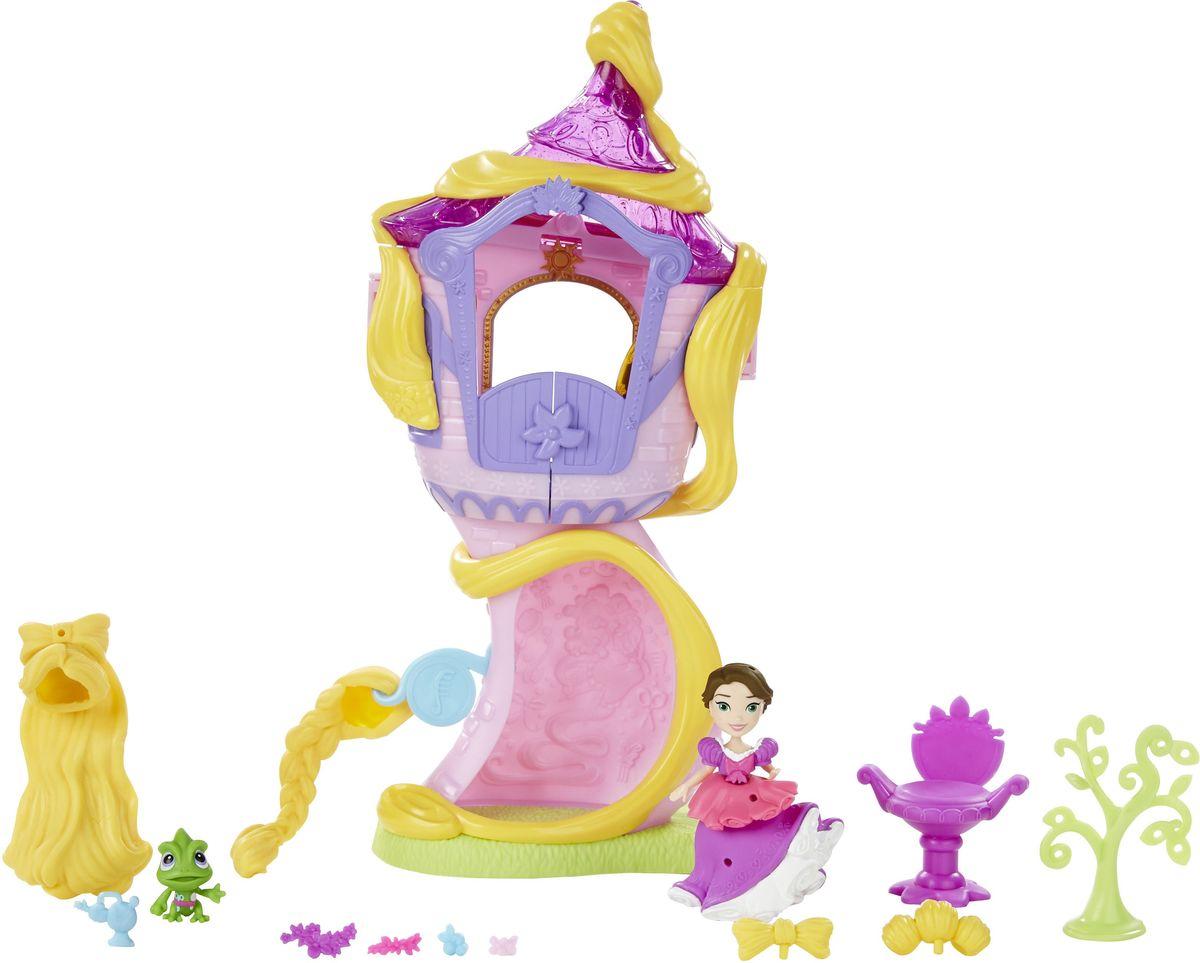 Disney Princess Игровой набор с мини-куклой Башня Рапунцель