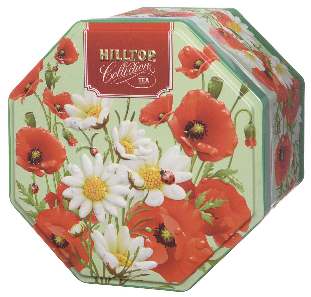 Hilltop Букет цветов. Цейлонское утро черный листовой чай, 150 г0120710Hilltop Букет цветов. Цейлонское утро - классический цейлонский черный чай с мягким ароматом, терпко-сладким вкусом и тонизирующими свойствами.