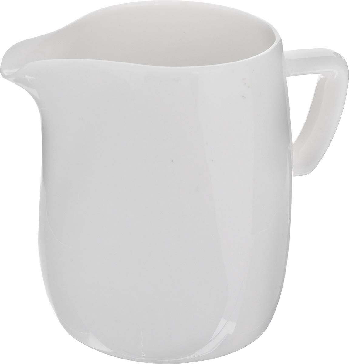 Сливочник Tescoma Crema, 250 мл115510Сливочник Tescoma Crema выполнен из высококачественного фарфора.Эксклюзивный дизайн, эстетичность и функциональность сливочника сделает его незаменимым на любой кухне.Можно мыть в посудомоечной машине, использовать в микроволновой печи и морозильнике. Диаметр по верхнему краю (без учета носика): 6 см.
