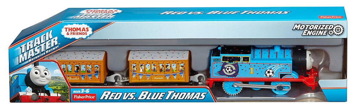 Thomas & Friends Паровозик Красный и синий Томас