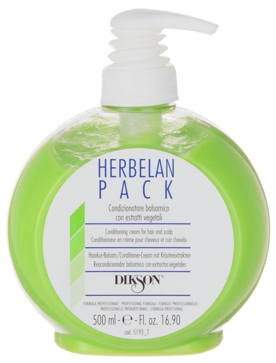 Dikson Растительный бальзам с ментолом, маслами ромашки и мальвы Herbelan Pack 500 млMP59.4DDikson Herbelan Pack по праву можно считать одним из самых эффективных средств, которые есть в линейке Dikson. Травяная кислота, которая лежит в его основе, способствует нейтрализации вялотекущего окисления, наступающего вследствие химических обработок, в том числе и осветления.Рекомендовано к применению в качестве основного средства для ухода за осветленными и окрашенными волосами. Травяная кислота позволяет окрашенным волосам сохранять свой блеск. Подходит волос для всех типов.В составе растительного бальзама содержатся следующие активные вещества:Эфирные масла мальвы и ромашки обеспечивают противовоспалительный и успокаивающий эффект.Ментол оказывает дезинфицирующее и оживляющее действие, охлаждает кожу головы, активизирует ее кровоснабжение.