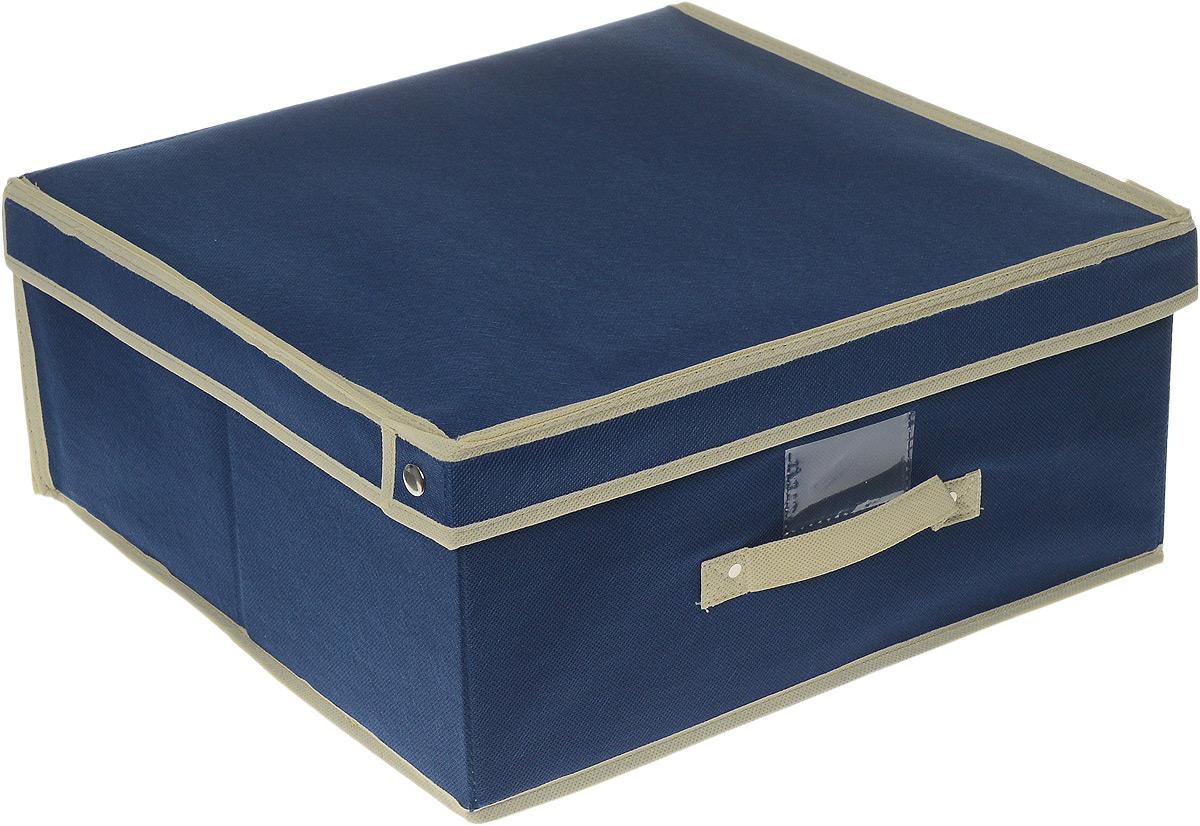 Чехол-коробка Cosatto, 45 х 45 х 20 смCOVLSCT002Чехол-коробка Cosatto изготовлен из дышащего нетканого полипропиленового материала, безопасного в использовании. Изделие подходит для хранения одежды, постельного белья и других вещей. Представляет собой закрывающуюся крышкой коробку жесткой конструкции, благодаря наличию внутри плотных листов картона. Пропускает воздух, но при этом надежно защищает от пыли, моли и солнечных лучей. Имеет удобную ручку.