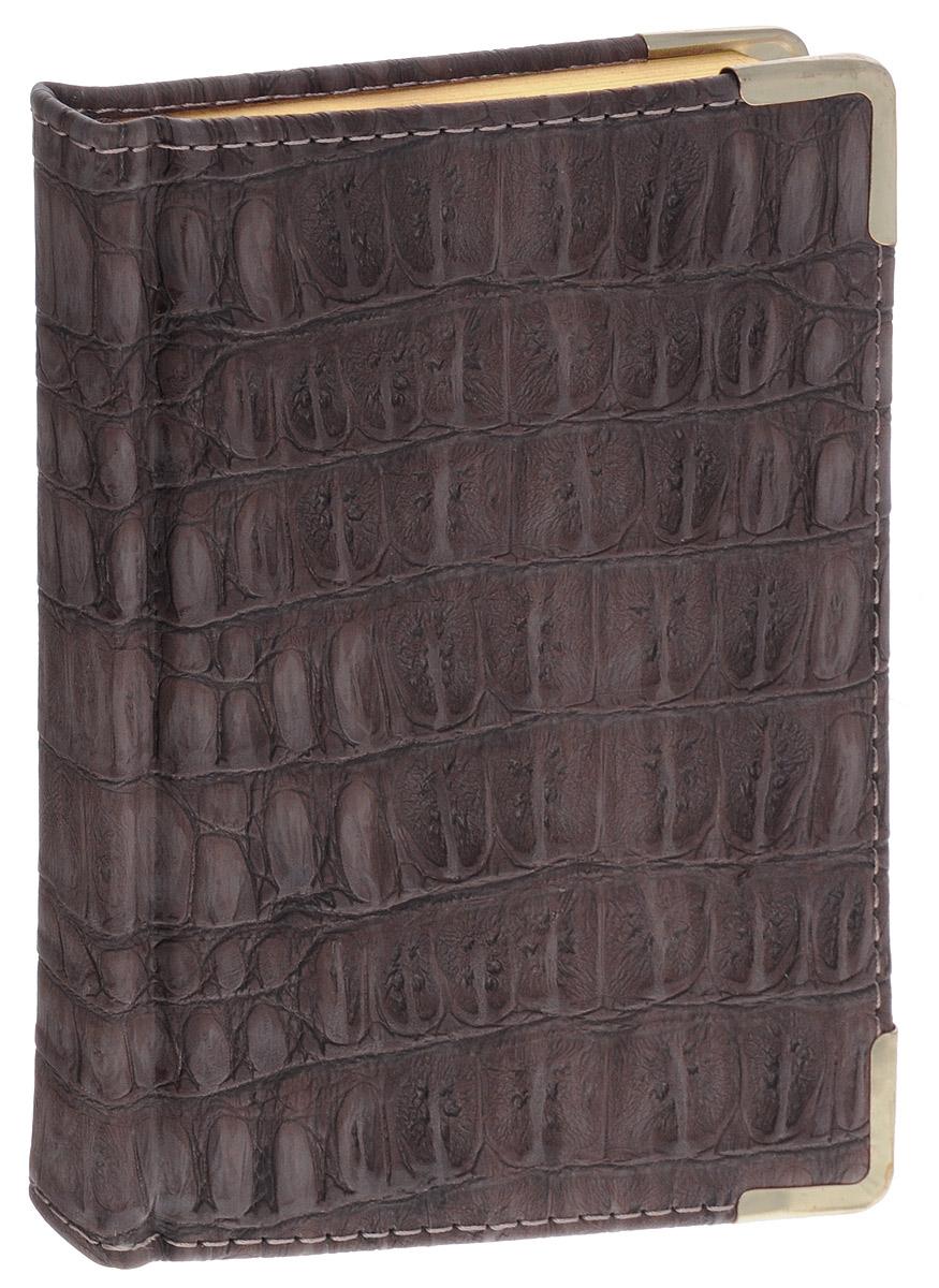 Listoff Записная книжка Skin 96 листов в клетку120ББ6B5_11842Записная книжка Listoff Skin - незаменимый атрибут современного человека, необходимый для рабочих и повседневных записей в офисе и дома. Обложка выполнена из высококачественной искусственной кожи, с прострочкой по периметру и поролоновой подкладкой. Записная книжка имеет трехсторонний золотой обрез. Она содержит 96 листов в клетку. Записная книжка Listoff Skin станет достойным аксессуаром среди ваших канцелярских принадлежностей. Она пригодится как для деловых людей, так и для любителей записывать свои мысли, писать мемуары или делать наброски новых стихотворений.