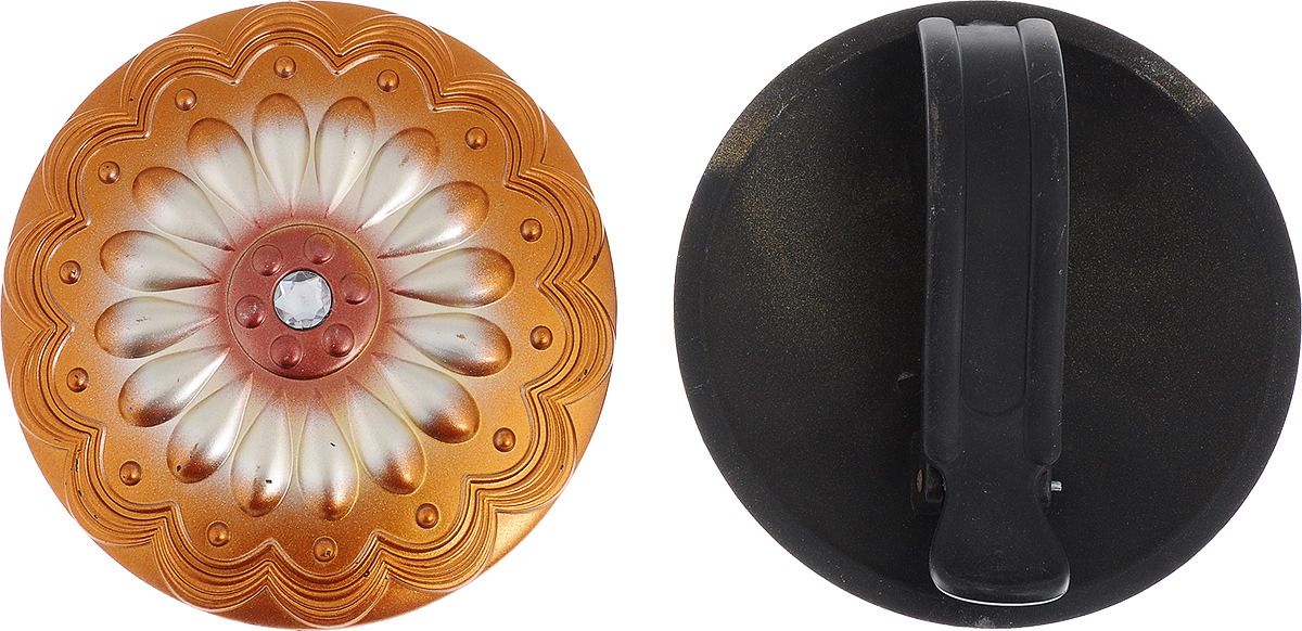 Клипса для штор Goodliving, цвет: бронзовый, диаметр 15 см, 2 шт1004900000360Клипсы для штор Goodliving выполнены из пластика в виде заколки. С помощью таких клипс можно зафиксировать портьеры, придать им требуемое положение, сделать складки симметричными или приблизить портьеры, скрепить их. Клипсы для штор являются универсальным изделием, которое превосходно подойдет как для штор в детской комнате, так и для штор в гостиной. Следует отметить, что клипсы для штор выполняют не только практическую функцию, но также являются одной из основных деталей декора, которая придает шторам восхитительный, стильный внешний вид. В комплекте - 2 клипсы.Диаметр клипсы: 15 см.
