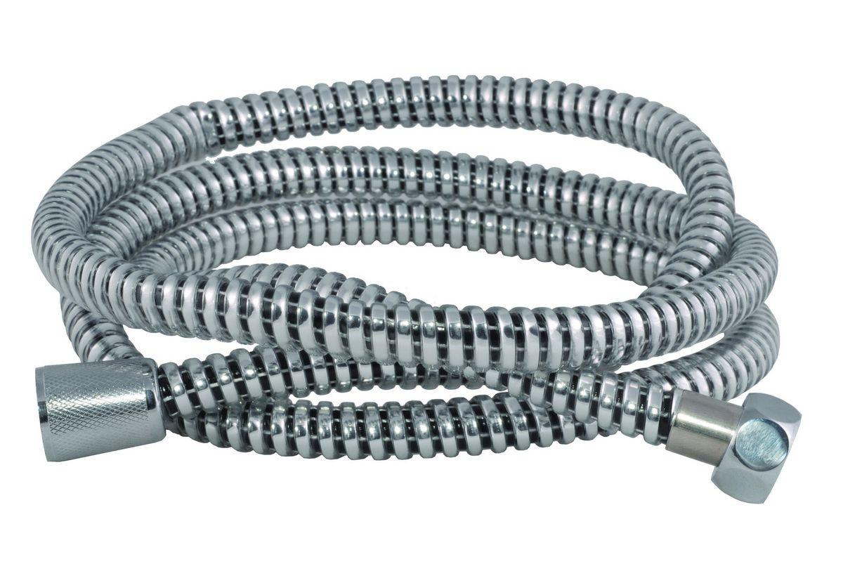Шланг для душа Argo Eur, цвет: стальной, 1/2, 175 см33107Универсальный гибкий шланг для душа Argo Eur сочетает в себе отличные эксплуатационные характеристикии приятный дизайн. Прочный и надежный шланг эргономичен и прост в монтаже, удобен виспользовании.Длина: 175 см. Выходы шлага: 1/2. Тип фитинга: гайка - конус с насечкой.Тип соединения оплетки: двойной замок.