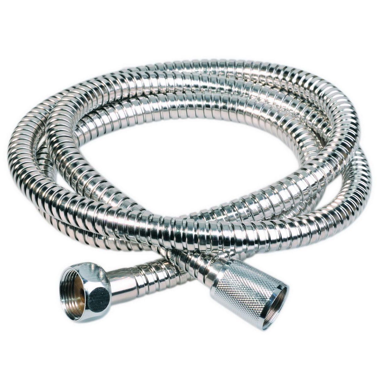 Шланг для душа Argo Rus-Eur-S, 150 смBL505Универсальный гибкий шланг для душа Argo Rus-Eur-S с внешней оболочкой изнержавеющей стали, сочетает в себе отличные эксплуатационные характеристикии приятный дизайн. Прочный и надежный шланг эргономичен и прост в монтаже, удобен виспользовании. Длина: 150 см. Выходы шлага: М22x1,5 х 1/2. Тип фитинга: гайка – конус с насечкой.Тип соединения оплетки: двойной замок.