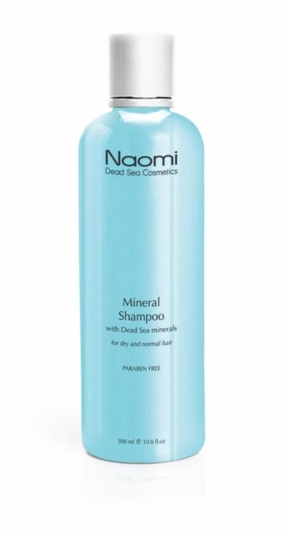 Naomi Шампунь с минералами Мертвого моря, 300 мл45755Наполните Ваши волосы силой и жизненной энергией. С шампунем, обогащенным минералами Мертвого моря, результат превзойдет все Ваши ожидания! Уникальная формула этого чудодейственного шампуня глубоко очищает волосы и кожу головы, нежно и бережно восстанавливая их структуру. Высокая концентрация минералов Мертвого моря обеспечивает активное питание кожи головы и корней, а комплекс органических компонентов придают локонам объем, блеск и шелковистость.