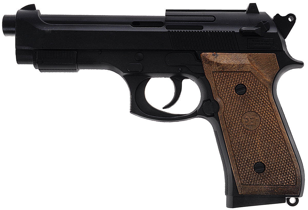 """Пистолет Edison """"Parabellum"""" - удобное и качественное детское оружие. Стрельба производится легким нажатием на курок. Игрушечный пистолет Parabellum станет незаменимым помощником вашему маленькому полицейскому или солдату. Идеально подходит для активных ребят и непосед. Все игрушки компании Edison Giocattoli производятся в Италии, обладают высокими показателями качества и долговечности. Игрушка изготовлена из безопасных, нетоксичных и качественных материалов, безопасных для здоровья детей. Емкость магазина: 13 пистонов (в комплект не входят)."""