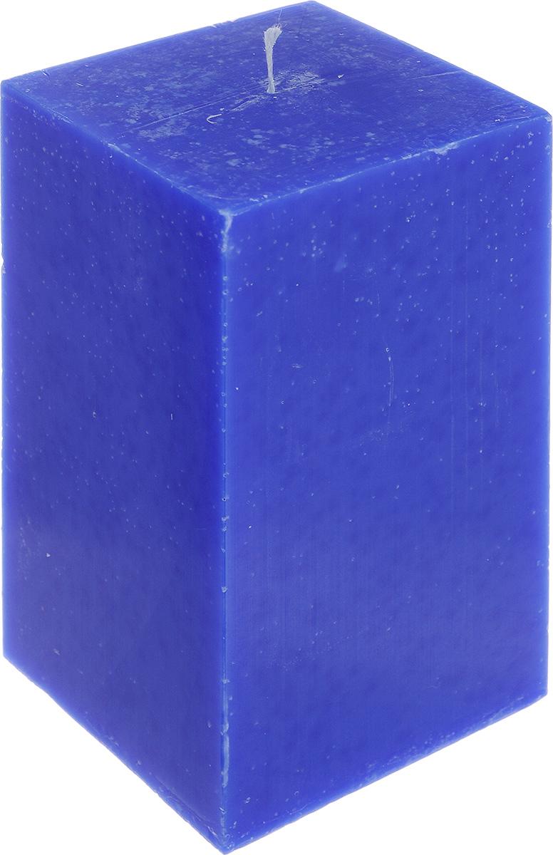 Свеча декоративная Proffi Home Квадрат, цвет: синий, 9,5 х 9,5 х 17,5 смRG-D31SСвеча Proffi Home Квадрат выполнена из парафина и стеарина в классическом стиле. Изделие порадует вас ярким дизайном. Такую свечу можно поставить в любое место, и она станет ярким украшением интерьера. Свеча Proffi Home Квадрат создаст незабываемую атмосферу, будь то торжество, романтический вечер или будничный день.