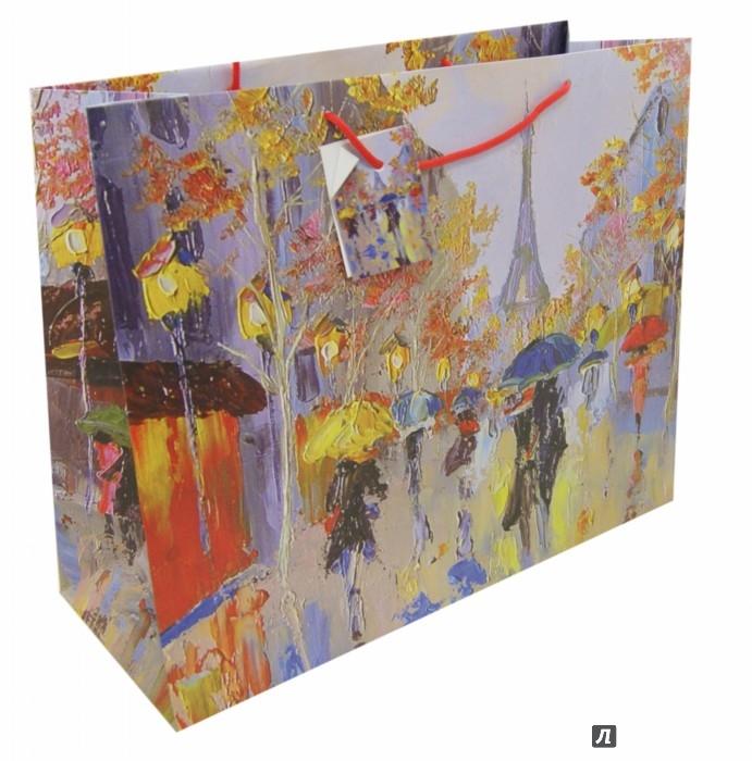 Пакет подарочный Феникс-Презент Дождь в Париже, 41 х 16 х 33 см7706831_208Подарочный пакет Феникс-презент Дождь в Париже, изготовленный из плотной бумаги, станет незаменимым дополнением к выбранному подарку. Дно изделия укреплено картоном, который позволяет сохранить форму пакета и исключает возможность деформации дна под тяжестью подарка. Для удобной переноски на пакете имеются две ручки из шнурков.Подарок, преподнесенный в оригинальной упаковке, всегда будет самым эффектным и запоминающимся. Окружите близких людей вниманием и заботой, вручив презент в нарядном, праздничном оформлении.Плотность бумаги: 250 г/м2.