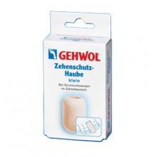 Gehwol Zehenschutz-Haube - Колпачок для пальцев защитный малый 2 штБУ-00000316Колпачок для пальцев защитный Геволь малый (Gehwol Zehenschutz-Haube) изготовлен из мягкого пенообразного материала, плотно прилегает к коже. Эффективно защищает от надавливания мозоли, натертостей и костных наростов.Рекомендуется использовать для защиты от давления на кончик пальца при вросшем ногте.Медицинский продукт.Назначение: защищает от воздействия мозолей, натертостей и костных наростов.Количество: 2 шт