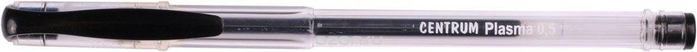Centrum Ручка гелевая черная Plasma цвет чернил черный 12 шт80847О