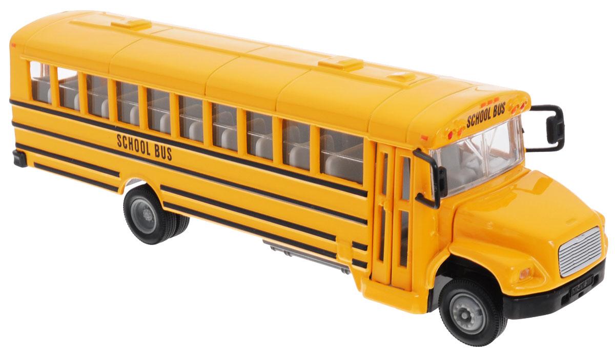 """Автобус Siku """"US School Bus"""" станет отличным подарком для вашего ребенка! Игрушка представляет собой модель автобуса с надписью """"School Bus"""". Игрушка выполнена из безопасных и качественных материалов, не представляющих опасности для ребенка. Ваш ребенок будет часами играть с этой игрушкой, придумывая различные истории!"""