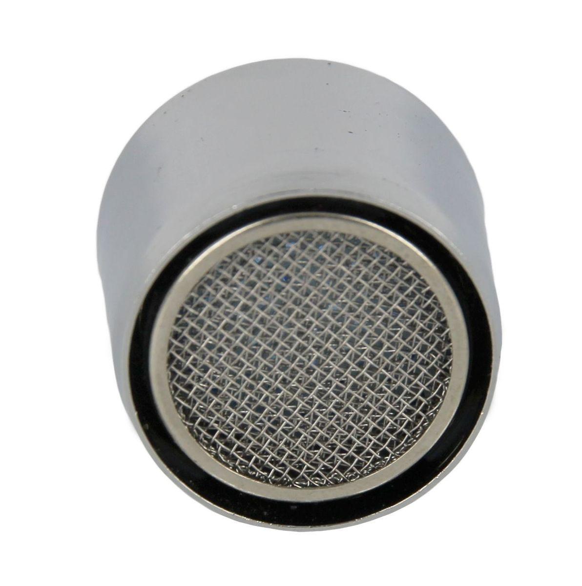 Аэратор для смесителя 1/2 внутренняя резьба МастерПрофBL505Аэратор предназначен для насыщения воздухом водной струи, выходящей из смесителя.Благодаря аэратору, вода из под крана выходит ровной и мягкой струей, это предает не только приятное ощущение для рук но, и одновременно способствует сокращению потребления воды.Размер: 1/2 (15 мм).