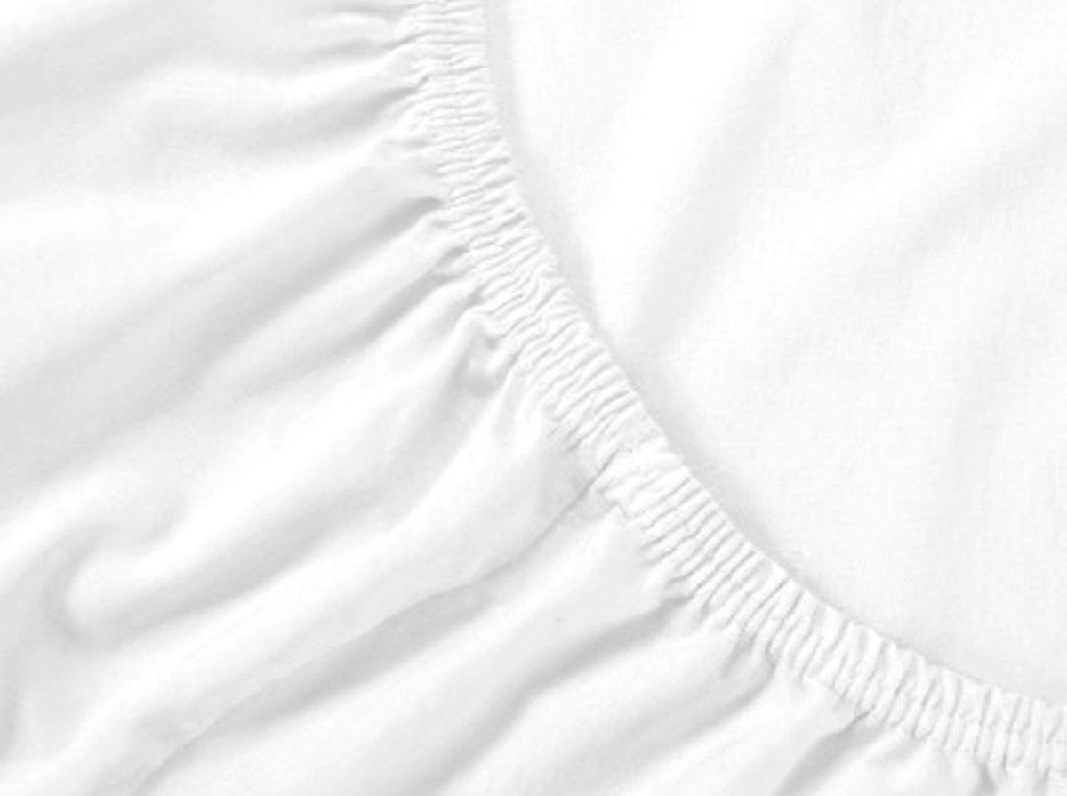 Простыня на резинке Хлопковый Край, цвет: белый, размер 180 х 200 см180с-ПНРБренд: Хлопковый Край. Чебоксары, Россия Коллекция: Радуга желаний Материал: ТРИКОТАЖ (кулирка)-100% хлопок; Плотность 125 гр/м2- нежное, гладкое и прочное; Активное крашение - простынь не теряет цвет; Гиппоалергенно и безопасно даже для детей; Стойкое к стиркам - не образуются катышки Высота бортика 20 см - подходит для 99% матрасов; Резинка по всему периметру - идеально садится на матрас; Сертификат ЕАС и знак Eco Friendly