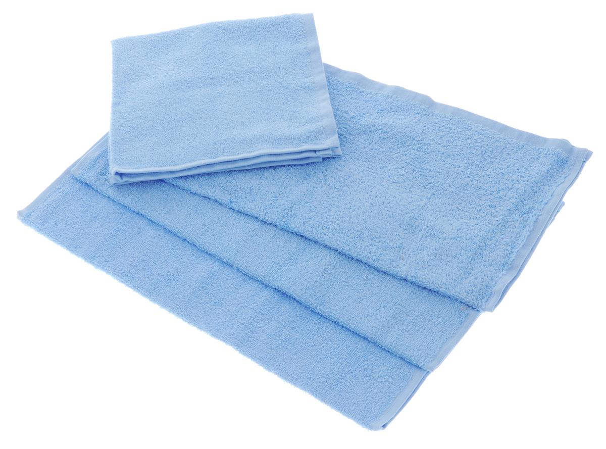 Набор махровых полотенец Aisha Home Textile, цвет: голубой, 40 х 40 см, 4 штCLP446Набор Aisha Home Textile состоит из 4 махровых полотенец, выполненных из натурального 100% хлопка. Изделия отлично впитывают влагу, быстро сохнут, сохраняют яркость цвета и не теряют формы даже после многократных стирок.Полотенца Aisha Home Textile очень практичны и неприхотливы в уходе. Комплектация: 4 шт.