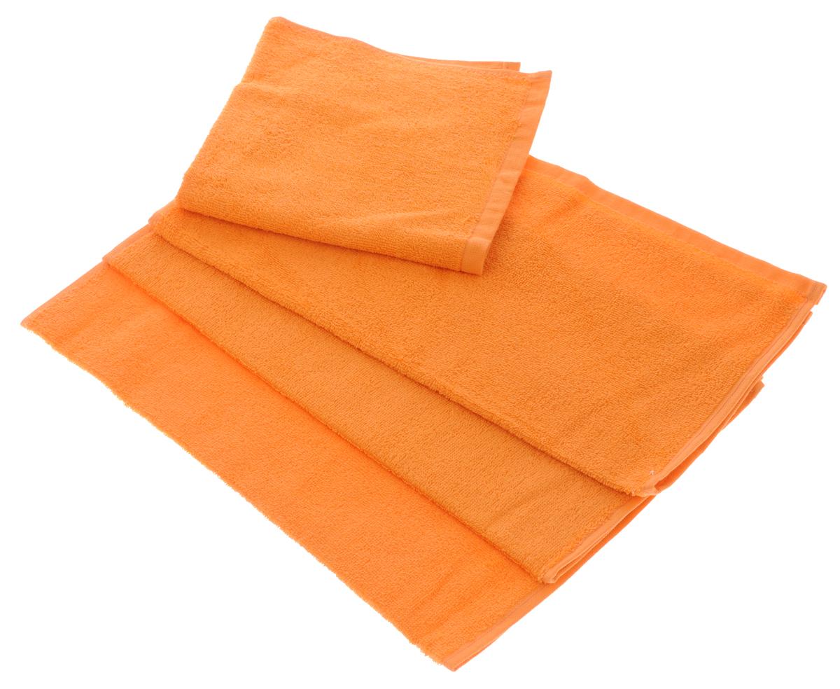 Набор махровых полотенец Aisha Home Textile, цвет: оранжевый, 40 х 40 см, 4 штCLP446Набор Aisha Home Textile состоит из 4 махровых полотенец, выполненных из натурального 100% хлопка. Изделия отлично впитывают влагу, быстро сохнут, сохраняют яркость цвета и не теряют формы даже после многократных стирок.Полотенца Aisha Home Textile очень практичны и неприхотливы в уходе. Комплектация: 4 шт.