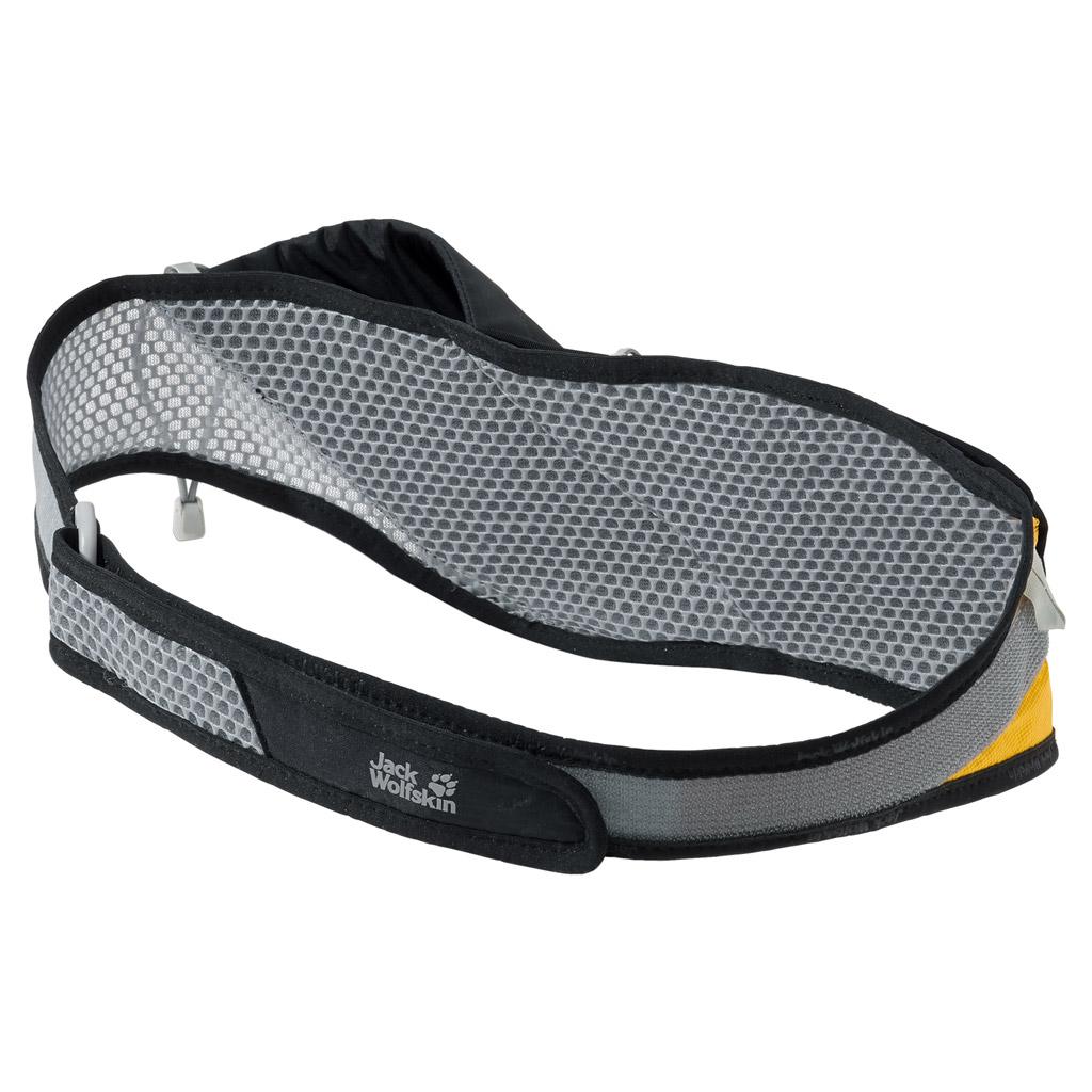Сумка поясная спортивная Jack Wolfskin Speed Liner 1 Belt, цвет: черный. 2004511-6000MHDR2G/AОчень легкая, хорошо вентилируемая набедренная сумка для бега по пересеченной местности с футляром для бутылки. Регулируется в объеме при помощи застежки-липучки.