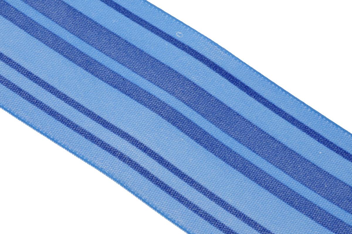 Лента атласная Dekor Line Горизонталь, цвет: синий, голубой, 4,5 х 300 смC0038550Атласная лента Dekor Line Горизонталь выполнена из высококачественного полиэстера. Область применения атласной ленты весьма широка. Лента предназначена для оформления цветочных букетов, подарочных коробок, пакетов. Кроме того, она с успехом применяется для художественного оформления витрин, праздничного оформления помещений, изготовления искусственных цветов. Ее также можно использовать для творчества в различных техниках, таких как скрапбукинг, оформление аппликаций, для украшения фотоальбомов, подарков, конвертов, фоторамок, открыток и прочего.Ширина ленты: 4,5 см.Длина ленты: 3 м.
