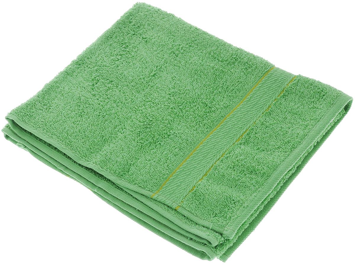 Полотенце махровое Aisha Home Textile, цвет: зеленый, 50 х 90 см1004900000360Махровое полотенце Aisha Home Textile выполнено из натуральной махровой ткани (100% хлопок). Изделие отлично впитывает влагу, быстро сохнет, сохраняет яркость цвета и не теряет форму даже после многократных стирок. Полотенце очень практично и неприхотливо в уходе. Оно создаст прекрасное настроение в ванной комнате.Рекомендации по уходу:- режим стирки при 40°C,- химчистка не допускается,- отбеливание запрещено