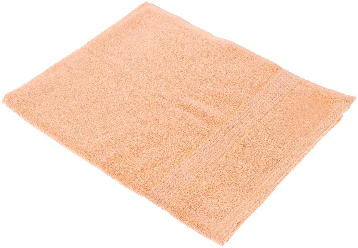 Полотенце махровое Aisha Home Textile Соты, цвет: персик, 70 х 140 см. 114-0C0042416Махровое полотенце Aisha Home Textile Соты выполнено из натуральной махровой ткани (100% хлопок). Изделие отлично впитывает влагу, быстро сохнет, сохраняет яркость цвета и не теряет форму даже после многократных стирок. Полотенце очень практично и неприхотливо в уходе. Оно создаст прекрасное настроение и украсит интерьер в ванной комнате.Рекомендации по уходу:- режим стирки при 60°C,- гладить при температуре 150°C, - химчистка не допускается,- отбеливание запрещено.