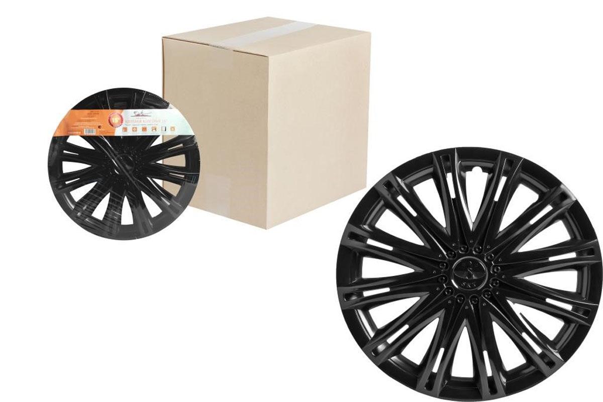 Колпаки колесные Airline Скай, цвет: черный глянец, 15, 2 шт. AWCC-15-132012506252065Колпаки колесные Airline Скай изготовлены из ударопрочного полистирола, имеют модную текстуру, имитирующую карбон, покрашены в популярные цвета, а также стойкие к повышенным и пониженным температурам. Колпаки снабжены надежными универсальными креплениями, позволяющими обеспечивать равномерное распределение давления на все защелки. Колпаки Airline защитят тормозную систему от грязи, соли и реагентов, скроют изъяны штампованных дисков, тем самым украсив ваш автомобиль.