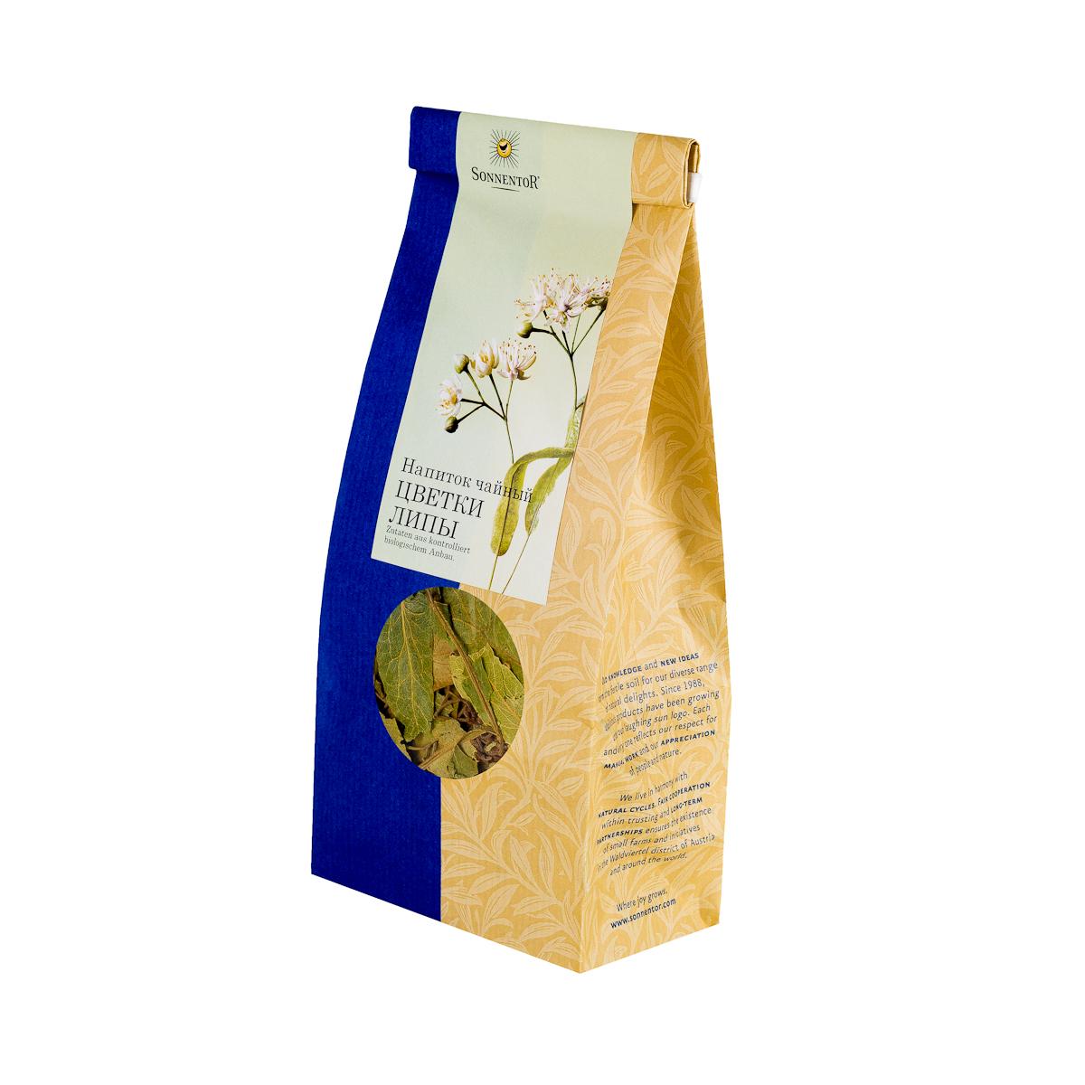 где купить  Sonnentor Цветки липы напиток чайный, 35 г  по лучшей цене