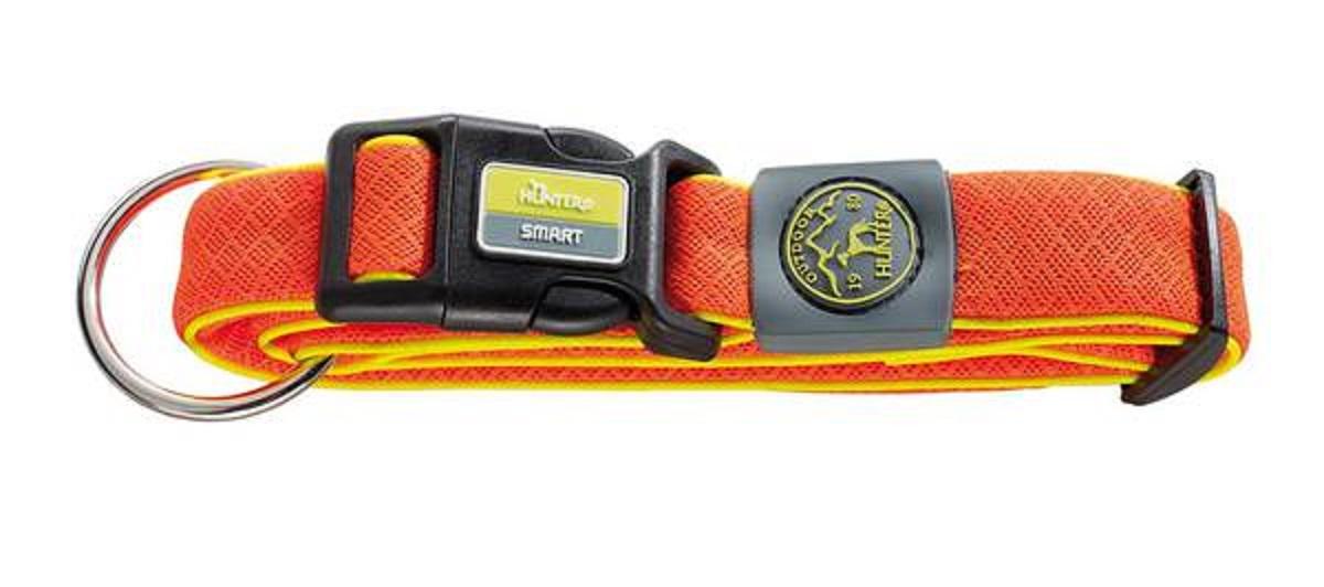 Ошейник для собак Hunter Maui М (36-55 cм) / 3,5 см сетчатый текстиль оранжевый0120710Hunter ошейник для собак Maui 36-55 cм сетчатый текстиль оранжевый Ошейник выполнен из невероятно мягкого и легкого текстильного материала. Регулируется по размеру в широком диапазоне. Обхват шеи 36-55 см.