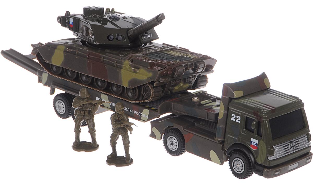 Технопарк Игровой набор Военная техника