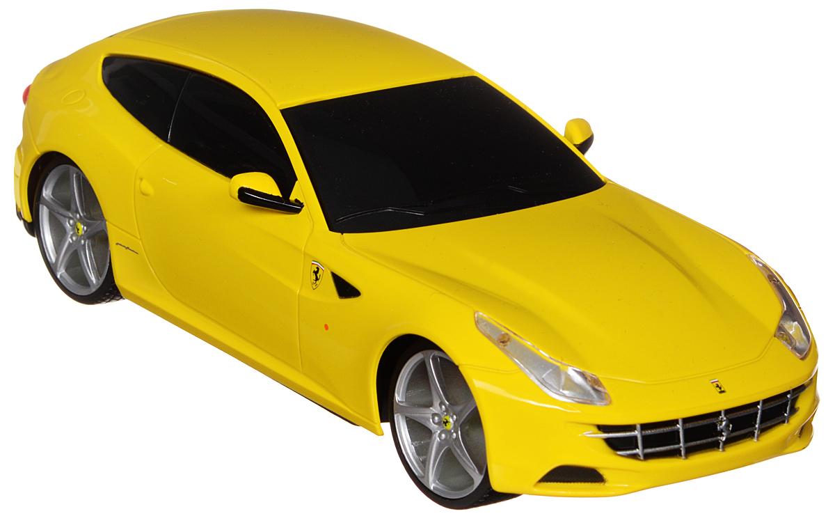 Maisto Радиоуправляемая модель Ferarri FF цвет желтый maisto радиоуправляемая модель ferarri ff цвет желтый