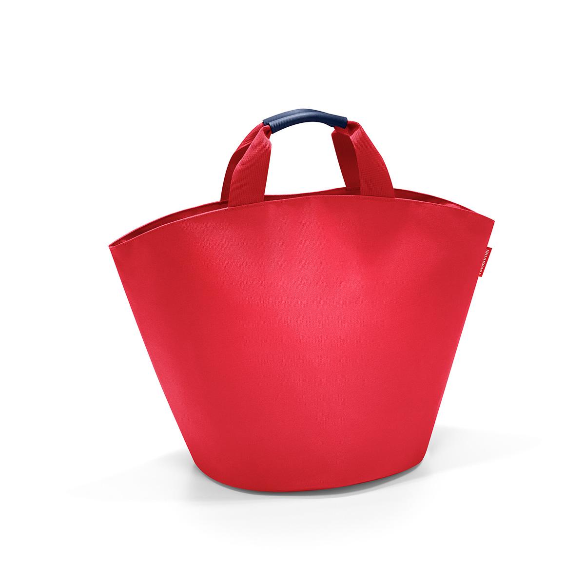 Сумка женская Reisenthel Ibizashopper, цвет: красный. BM3004101225Универсальная женская сумка Reisenthel Ibizashopper изготовлена из плотного полиэстера.Сумка содержит одно вместительное отделение, закрывающееся хлястиком на кнопки. Внутри расположен врезной карман на застежке-молнии. Ручки дополнены специальным покрытием, которое обеспечит максимальный комфорт при эксплуатации изделия.Практичная сумка станет незаменимым аксессуаром для повседневного использования.