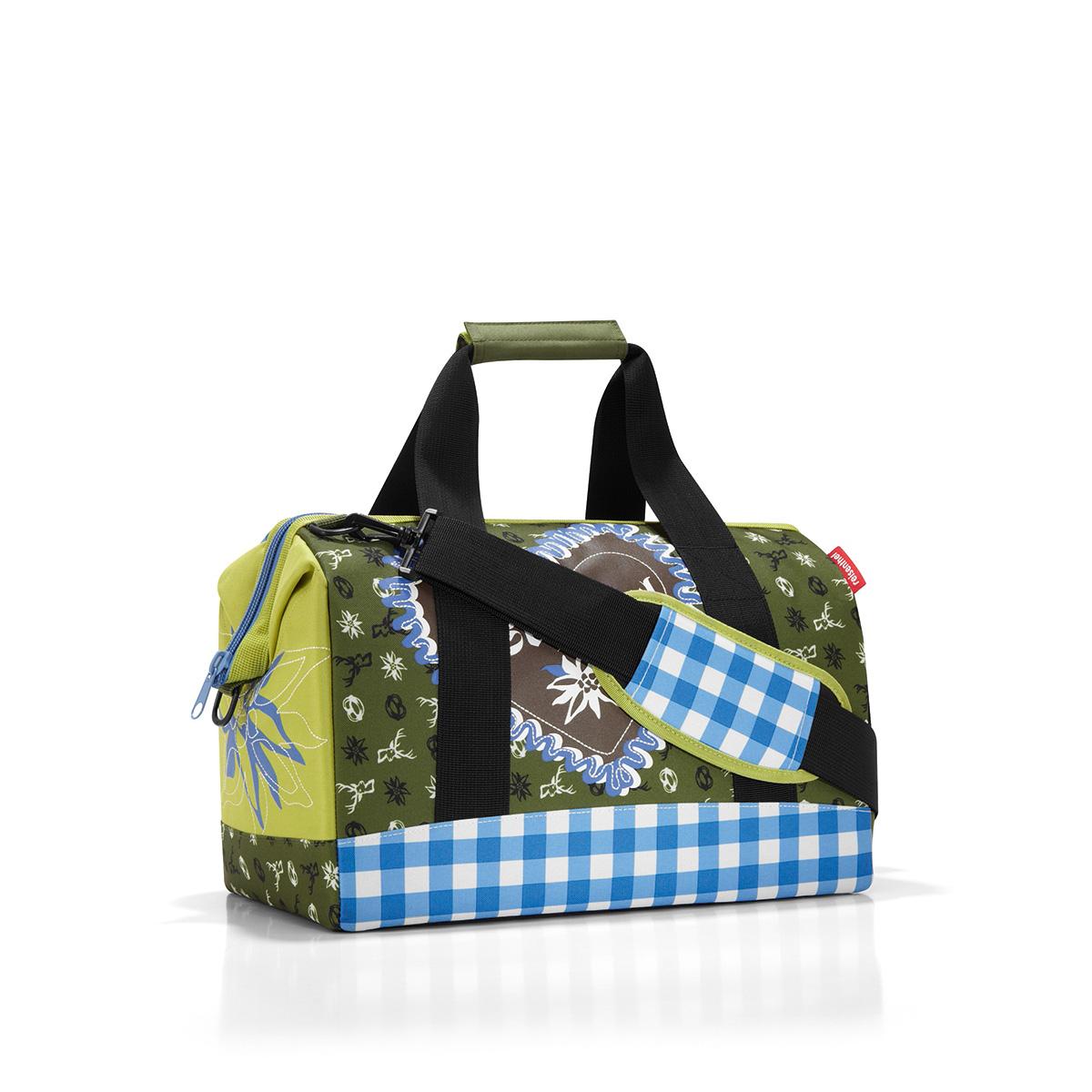 Сумка дорожная женская Reisenthel Allrounder, цвет: зеленый, голубой. MS5022 дорожная сумка купить в интернет магазине