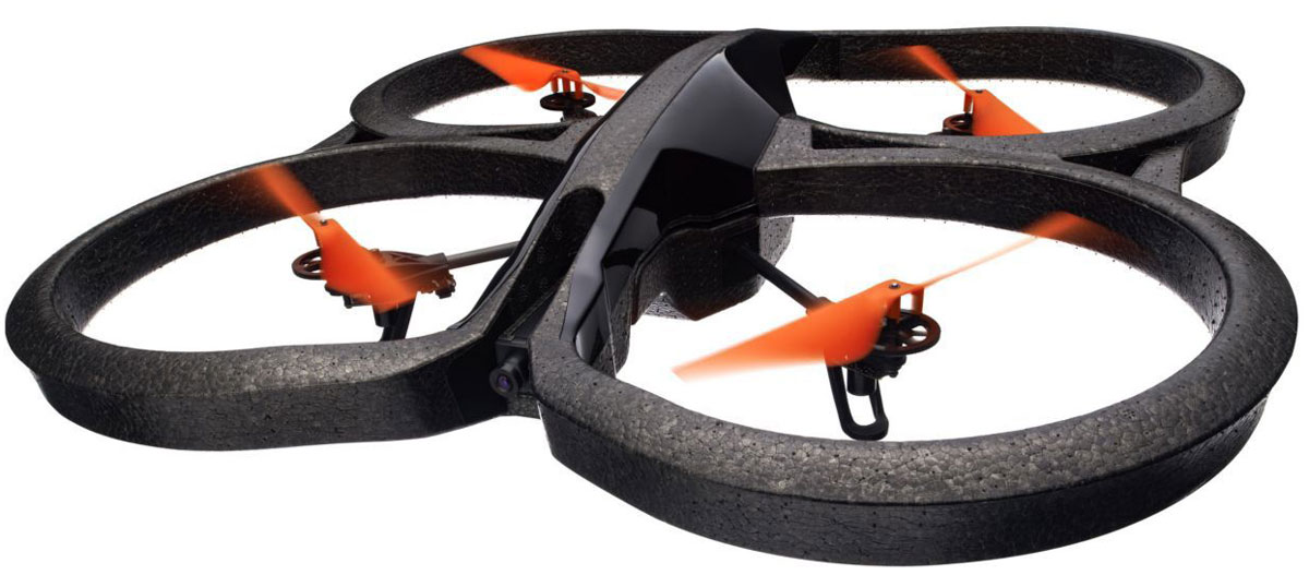 Parrot Квадрокоптер на радиоуправлении AR.Drone 2.0 Power Edition Area 2