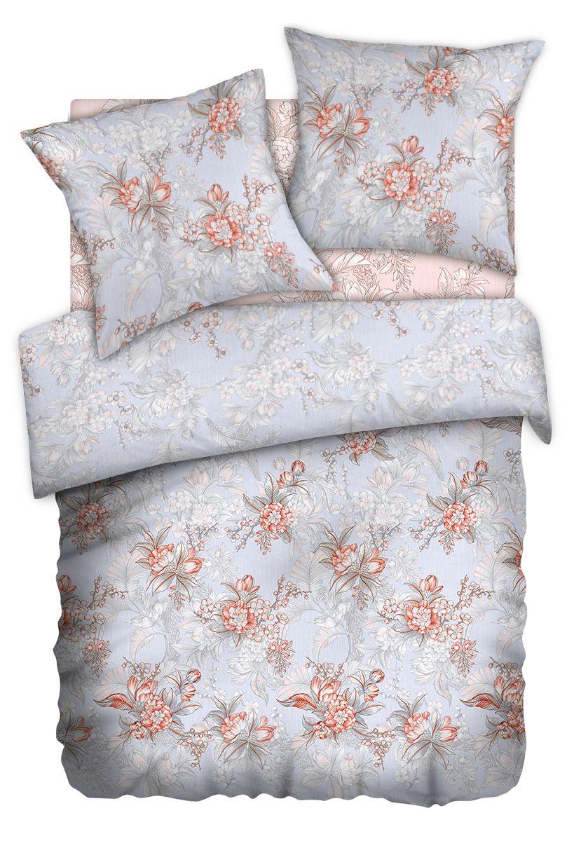 Комплект белья Carte Blanshe Misty Morning, 1,5 спальное, наволочки 70x70, цвет: розовый. 333454391602Коллекция эксклюзивного постельного белья, созданная итальянскими дизайнерами прекрасногостаринного городка Италии — Riva del Gard. Постельное белье выполнено из великолепной ткани премиум — класса «Percale Soft Touch». Эта ткань произведена из 100% натурального хлопкаимеет специальную обработку «Wise Silk», которая придает дополнительную гладкость и шелковистость ткани. Благодаря специальной обработке ткань более приятная на ощупь, практически не мнется.