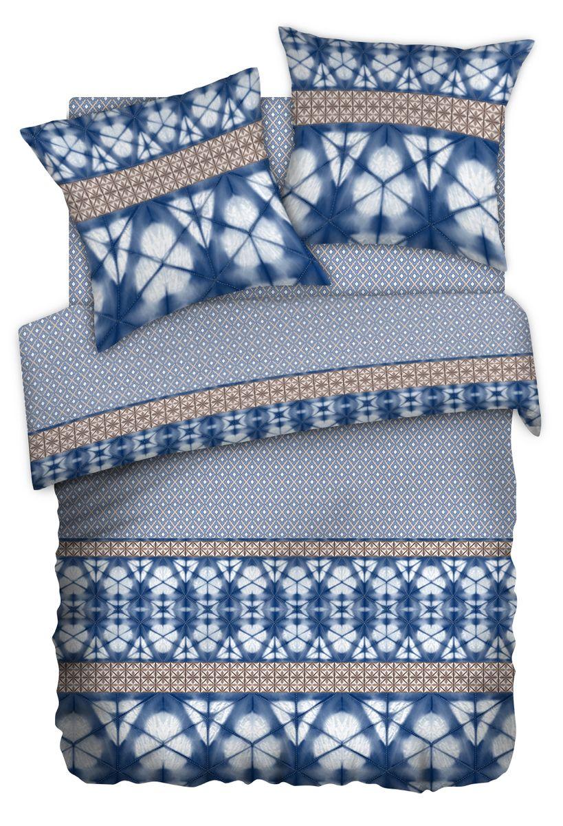 Комплект белья Carte Blanshe Shibori, 2-спальный, наволочки 70x70. 333476391602Комплект белья Carte Blanshe Shibori, выполненный из перкаля (100% хлопка), состоит из пододеяльника, простыни и двух наволочек. Благодаря специальной обработке ткань приятная на ощупь, шелковистая и практически не мнется. Постельное белье Carte Blanshe Shibori, оформленное оригинальным орнаментом, украсит интерьер спальной комнаты и подарит комфортный сон.